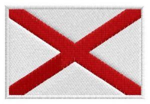Nášivka Alabama vlajka