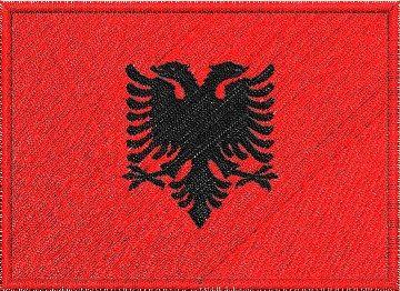 Albánská vlajka Pelisport