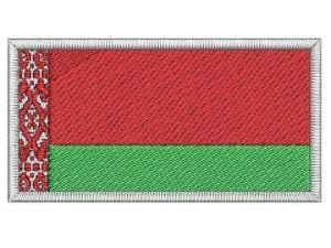 Nášivka Běloruská vlajka