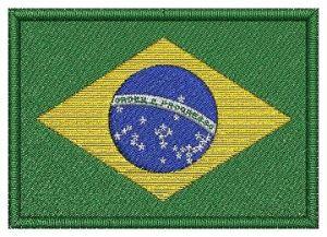 Nášivka Brazilská vlajka
