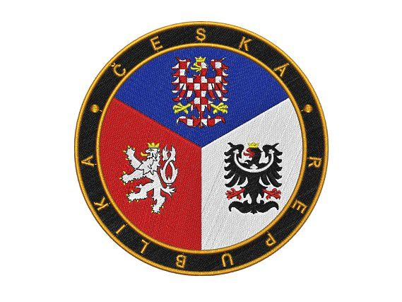 Nášivka Česko kulaté Pelisport