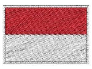 Nášivka Indonéská vlajka
