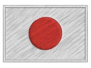 Nášivka Japonská vlajka