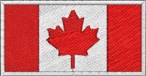 Nášivka Kanadská vlajka