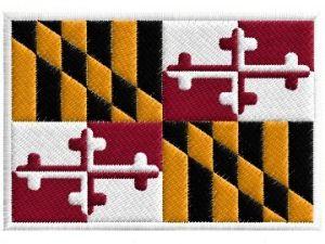 Nášivka Maryland vlajka
