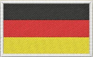 Nášivka Německá vlajka
