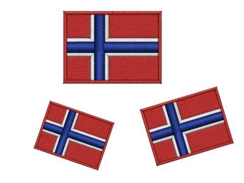 Nášivka Norská vlajka - sada Pelisport