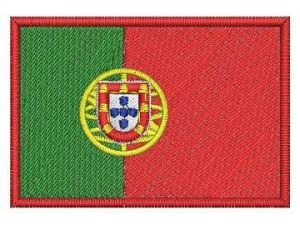 Nášivka Portugalská vlajka