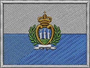 Nášivka Sanmarinská vlajka