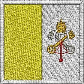 Nášivka Vatikánská vlajka