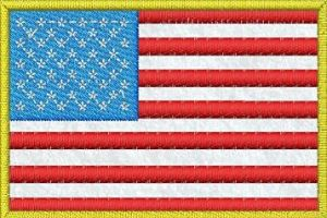 Vlajka USA - filc