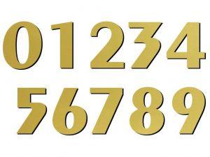 05 font Exotic zlatý plast