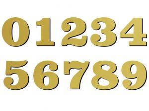 03 font Clarendon zlatý plast