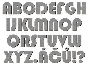 Písmena typ 02 - 1 ks