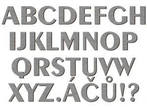 Písmena typ 05 - 1 ks
