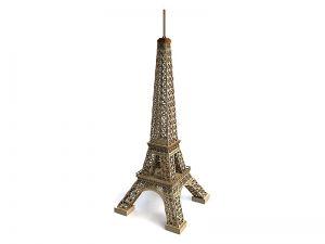 Eiffelova věž 3D puzzle