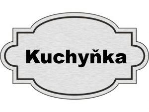 Dveřní štítek Kuchyňka