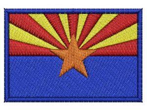 Nášivka Arizona vlajka