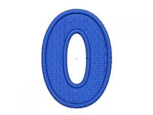 Nášivka čísla 0