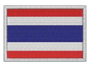 Nášivka Thajská vlajka