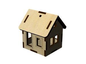 3D domeček 5