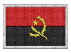 Nášivka Angolská vlajka