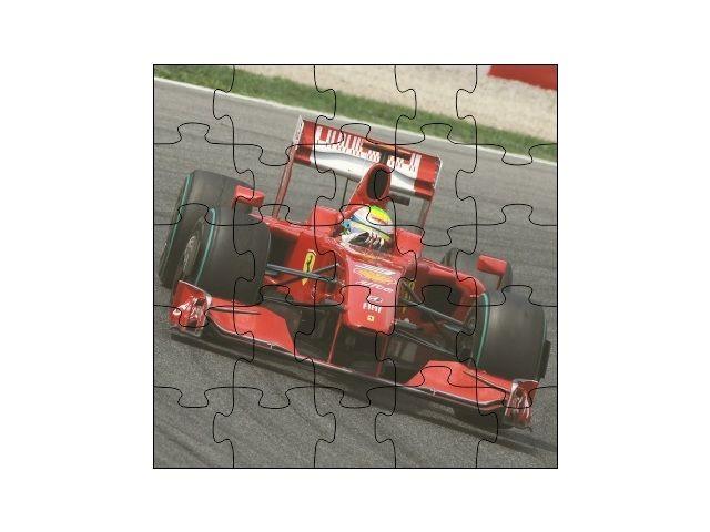 Dřevěné puzzle formule