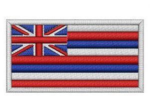 Nášivka vlajka Hawaii