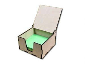 Krabička na papírové bločky
