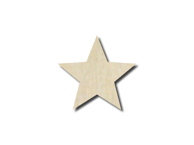 Hvězda z překližky