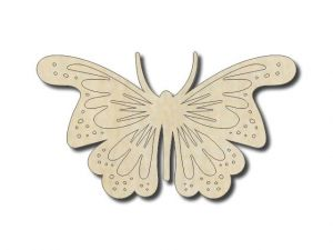 Vyřezávaný motýl 3