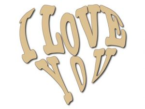 Dekorace I Love You