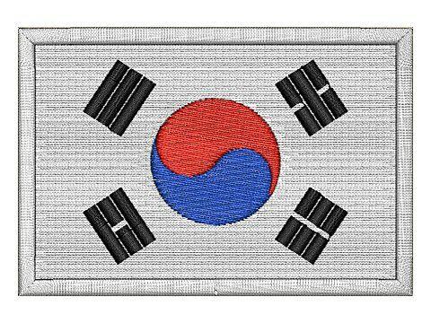 nášivka vlajka jižní Koreje
