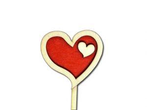 Zápich srdce 3D