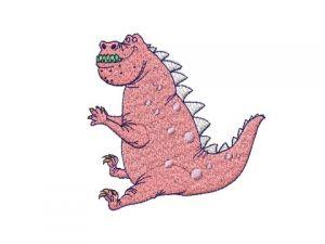 Výšivka Dino