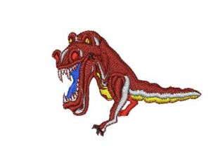 Výšivka Dino 2