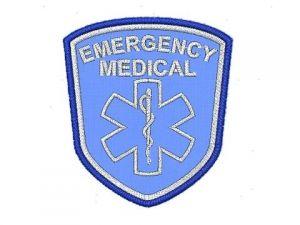 Výšivka Emergency Medical