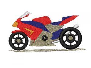 Výšivka Motorka 1