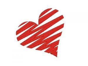 Výšivka Srdce 1