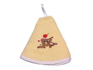 Dětský ručník kulatý