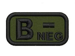 Krevní skupina B neg
