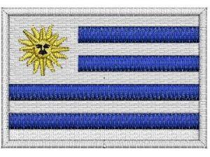 Nášivka Uruguayská vlajka