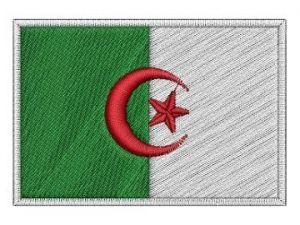 Nášivka Alžírská vlajka