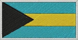 Nášivka Bahamská vlajka