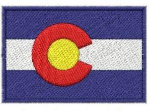 Nášivka Colorado vlajka