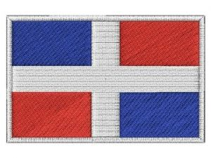 Nášivka Dominikánská vlajka