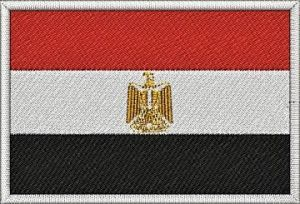 Nášivka Egyptská vlajka