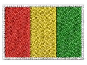 Nášivka Guinejská vlajka