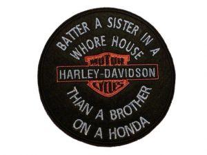 Harley Batter a Sister