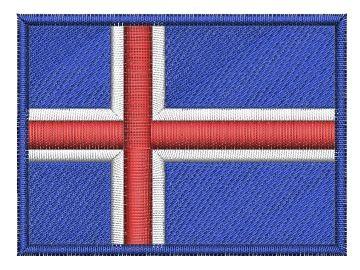 Islandská vlajka Pelisport